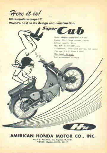 Honda Cub, USA