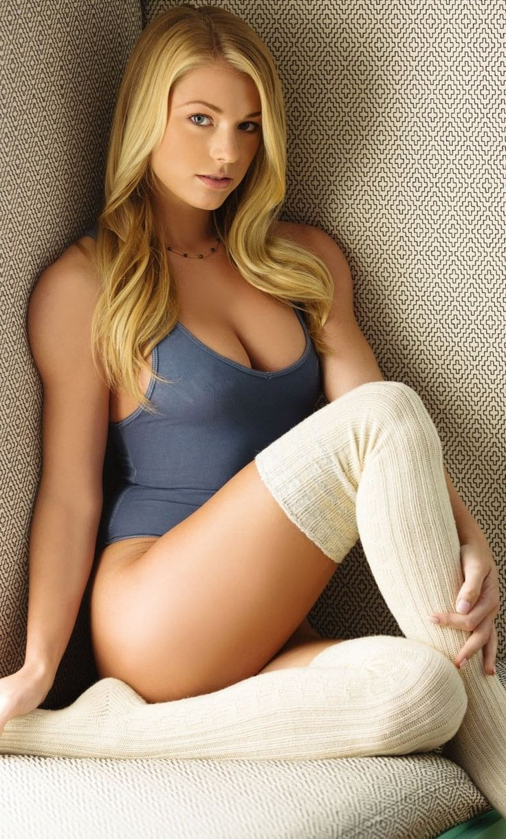 Sexy Hot  Hot Blond Girls In 2019  Sexy, Sexy Socks -1537