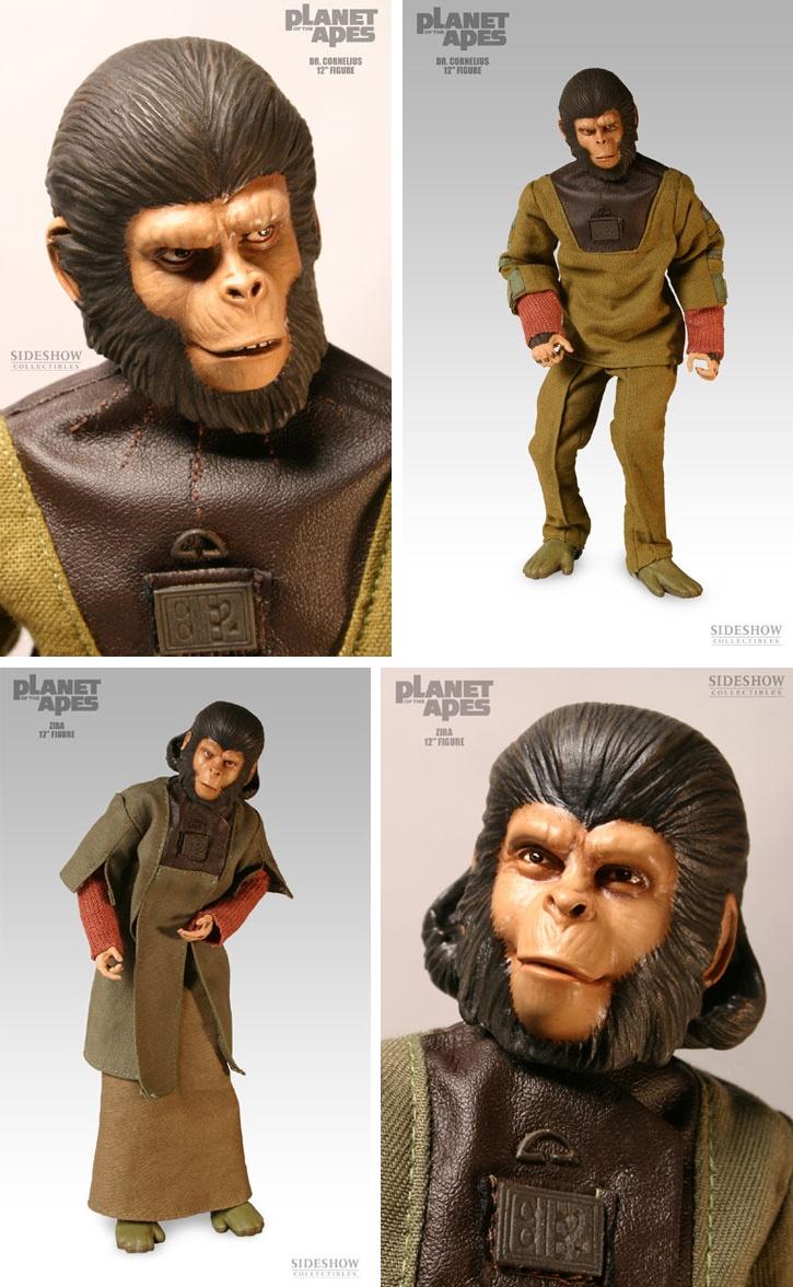 Planet of the Apes / Dr. Cornélius & Dr. Zira - Sideshow Collectibles