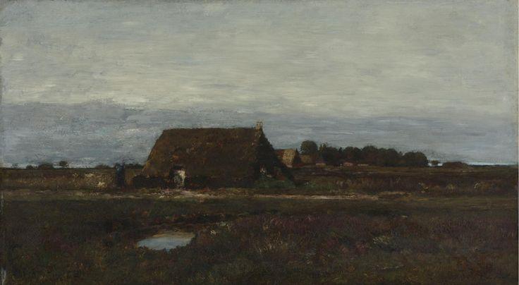 The Edge of the Village, 1877, László Paál