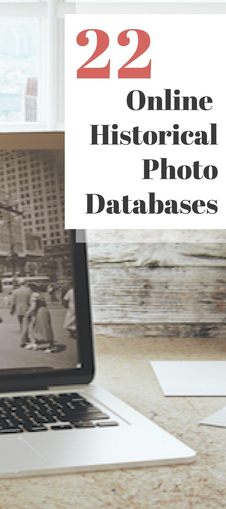22 Online Historical Photo Databases