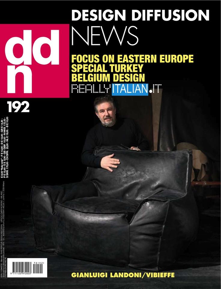 DDN DESIGN DIFFUSION NEWS 192 | Gianluigi Landoni Architetto