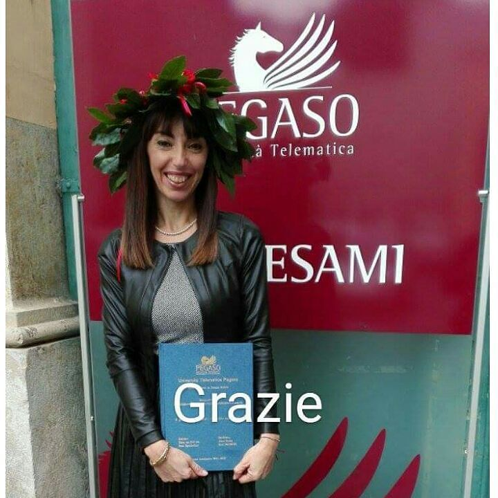Congratulazioni ad Anna Torino e a tutti in nostri neolaureati.  #admaiora