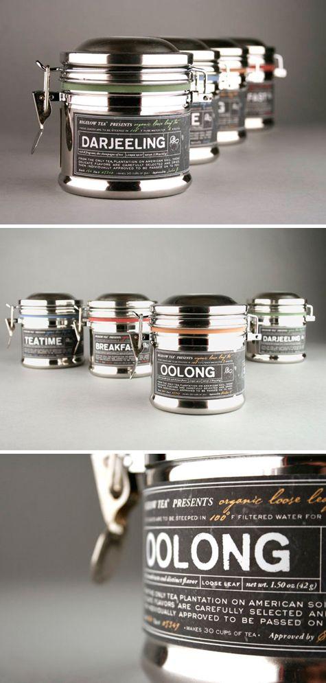Elegant tea packaging concept by Kristen Haff  |  http://www.thedieline.com/blog/2010/8/5/student-spotlight-bigelow-tea.html