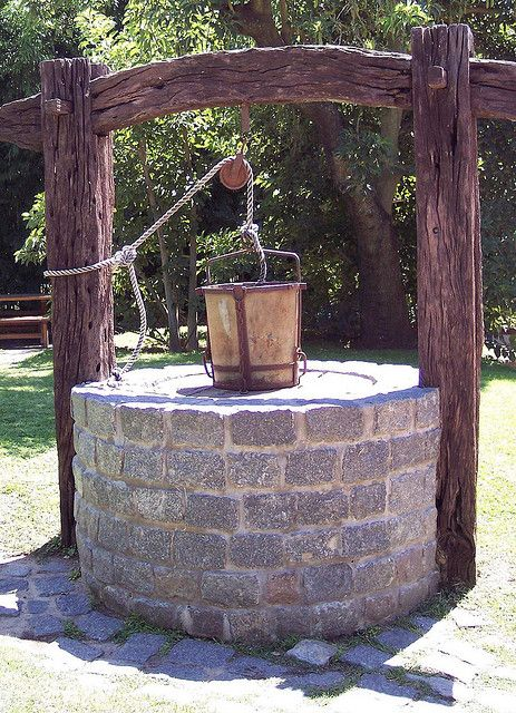 Old Water Well by GonB, via Flickr