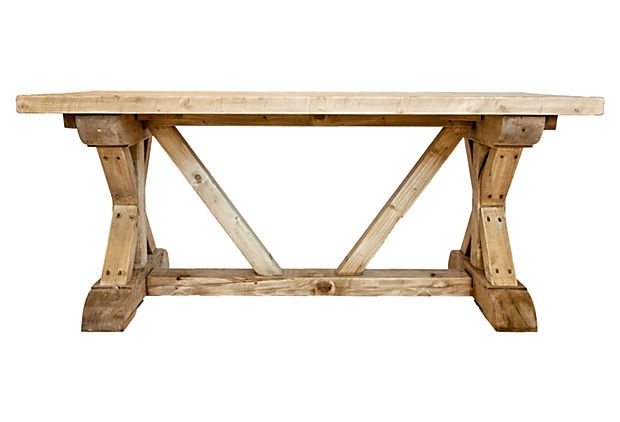 "Hampton Dining Table 72""W x 36""D x 30""H ($2,695.00) $1,349.00 OneKingsLane.com"