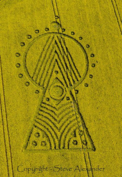 Круги на полях в Уилтшире (4 фото) - 7 Июня 2010 - Паранормальные новости