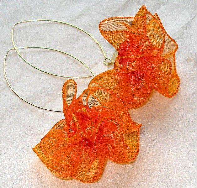 Pomarańczowe w Atelier Decou na DaWanda.com