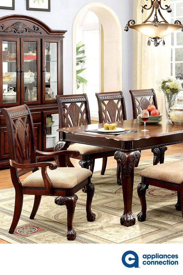 Petersburg I Collection 10 Piece Dining Room Set With Rectangular