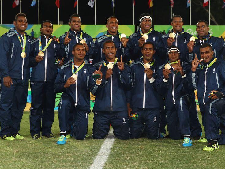 Storica medaglia d'oro per le Fiji alle olimpiadi di Rio 2016