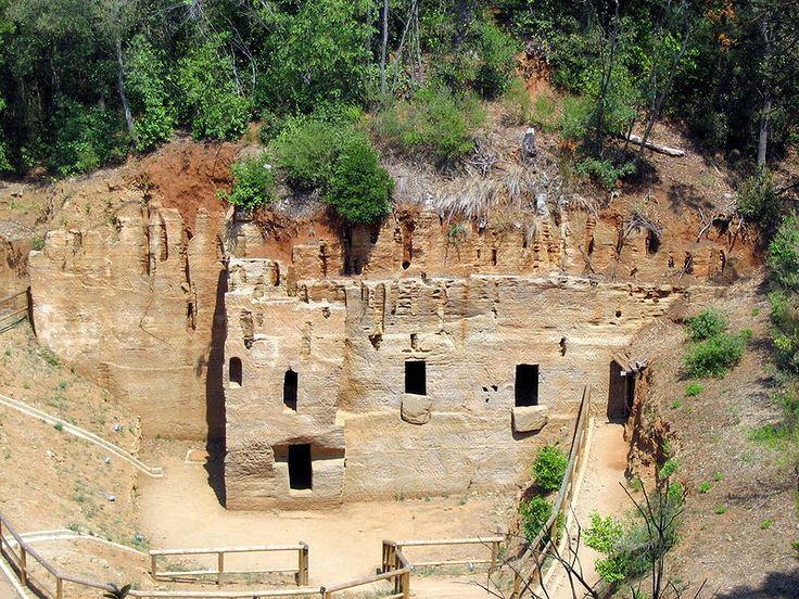 #Necropolis a #Populonia