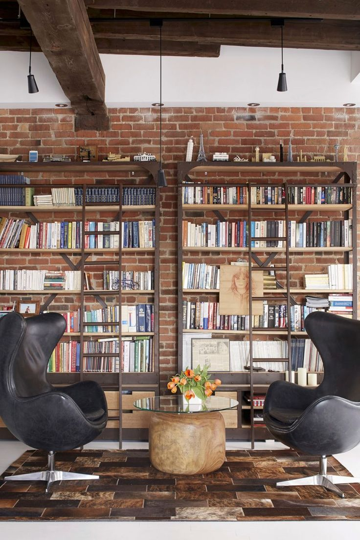 Old warehouse in montreal transformed into a dazzling contemporary - Manon B Langer Designs A Snazzy Loft In Old Montreal