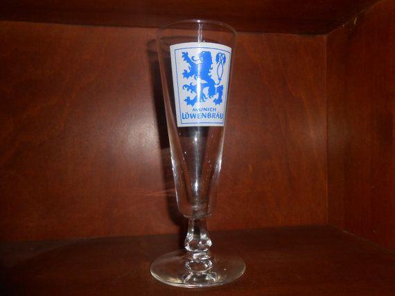 Collectible Vintage Lowenbrau Beer Pilsner by RememberingDiane, $9.75