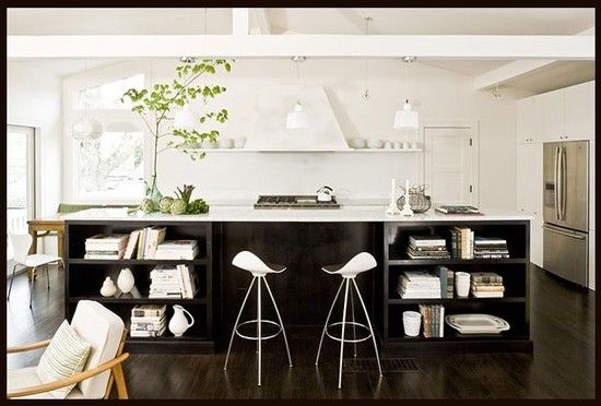 Modern White Kitchen Design, Pictures, Remodel, Decor and Ideas - page 8
