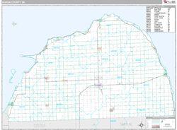 Huron County Mi Zip Code Wall Maps