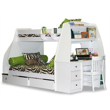 A great way to maximize space in a small children's bedroom http://thestir.cafemom.com/home_garden/167913/7_amazing_designs_for_kid/113144/mariner_bunk_bed?slideid=113144?utm_medium=sm&utm_source=pinterest&utm_content=thestir