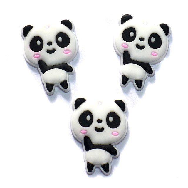 566fbaadd Panda para Laços - Pct com 2 - DecoarteBrasil | Apliques | Pinterest ...