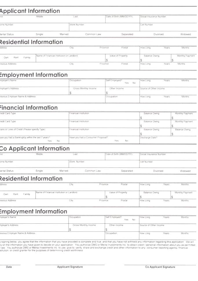 Personal Loan Application Form Template Best Of Auto Loan Credit Application Form Pdf Auto Loan In 2020 Loan Application Personal Loans Car Loans