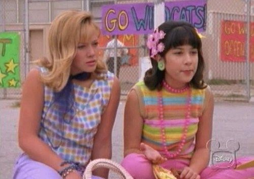 lizzie mcguire-tried to dress just like these girls, not a good idea