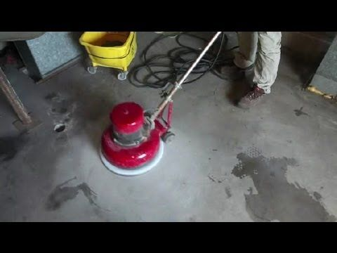 How To Remove Old Paint From Concrete Floors Concrete