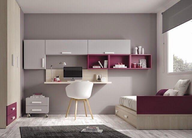 Dormitorios juveniles habitaciones infantiles y mueble for Diseno de dormitorios juveniles