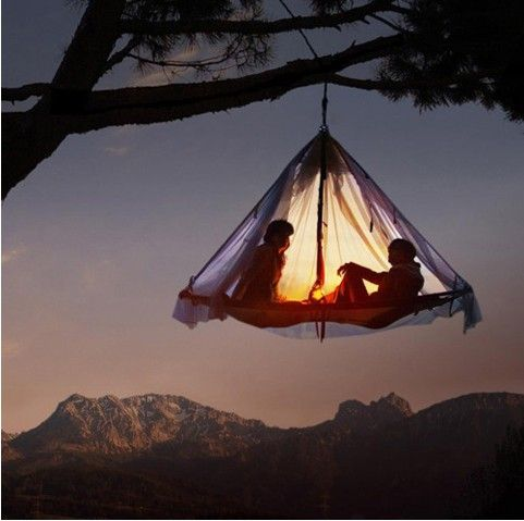 tent on a tree = cocooning