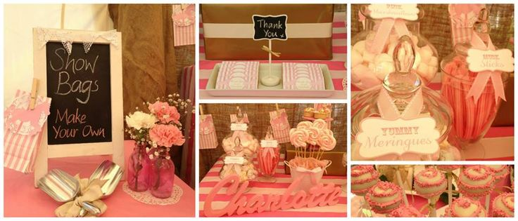 Show Bag Lolly Buffet. A cute way to make your own lollybags