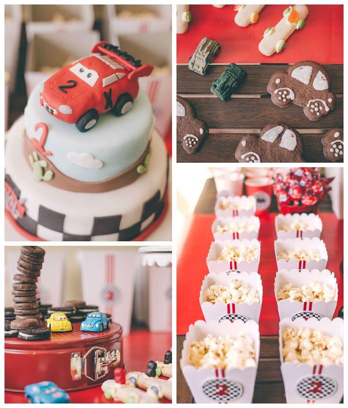 Kara S Party Ideas Car Themed 1st Birthday Party Via Kara: Cars + Lightning McQueen Birthday Party Via Kara's Party