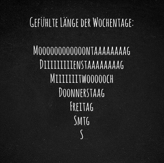 Тонкий немецкий юмор: ничто не пролетает так быстро, как #выходные :(  Проведите их классно!!!