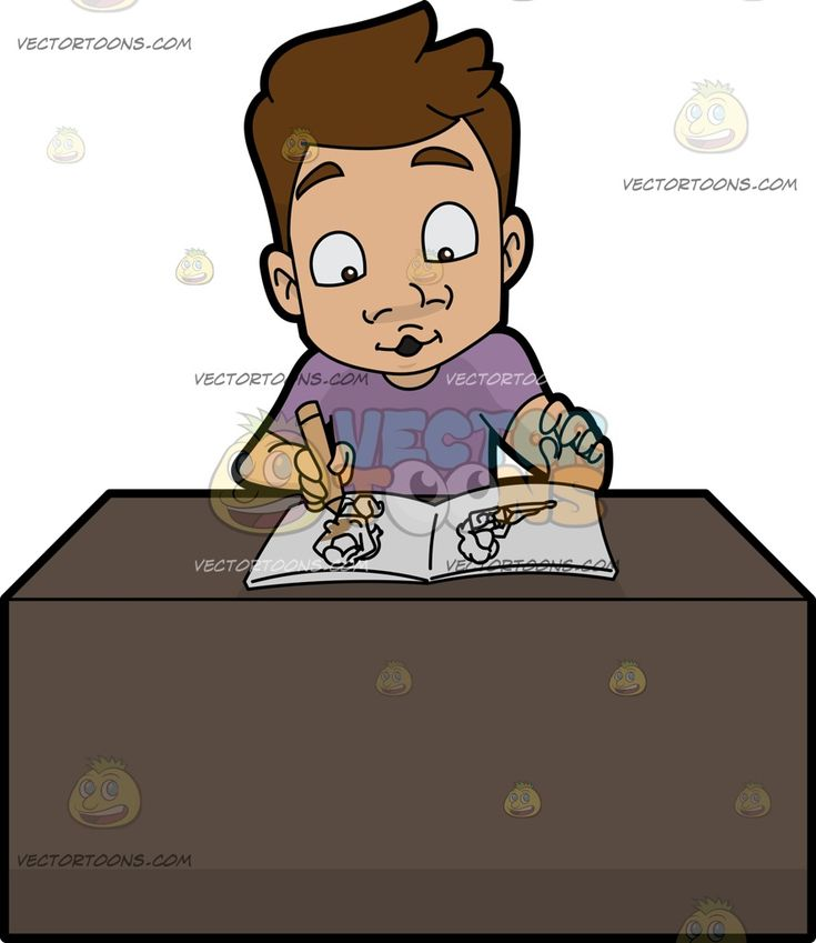 A Man Enjoys Coloring His Adult Photo Book :  A man with brown hair wearing a purple shirt sitting behind a brown desk whistles while coloring a page of an adult picture book using the beige crayon in his right hand  The post A Man Enjoys Coloring His Adult Photo Book appeared first on VectorToons.com.