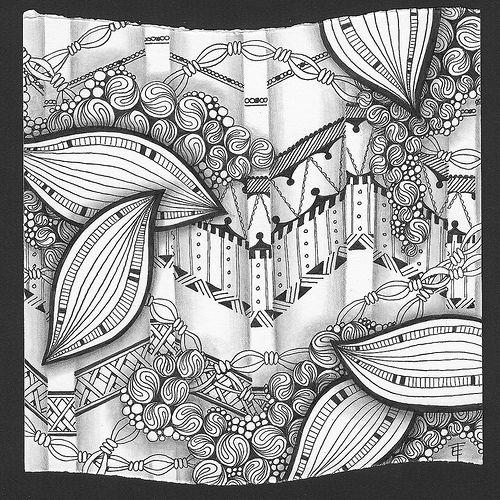 Tangle Art (for Diva's Challenge #109)