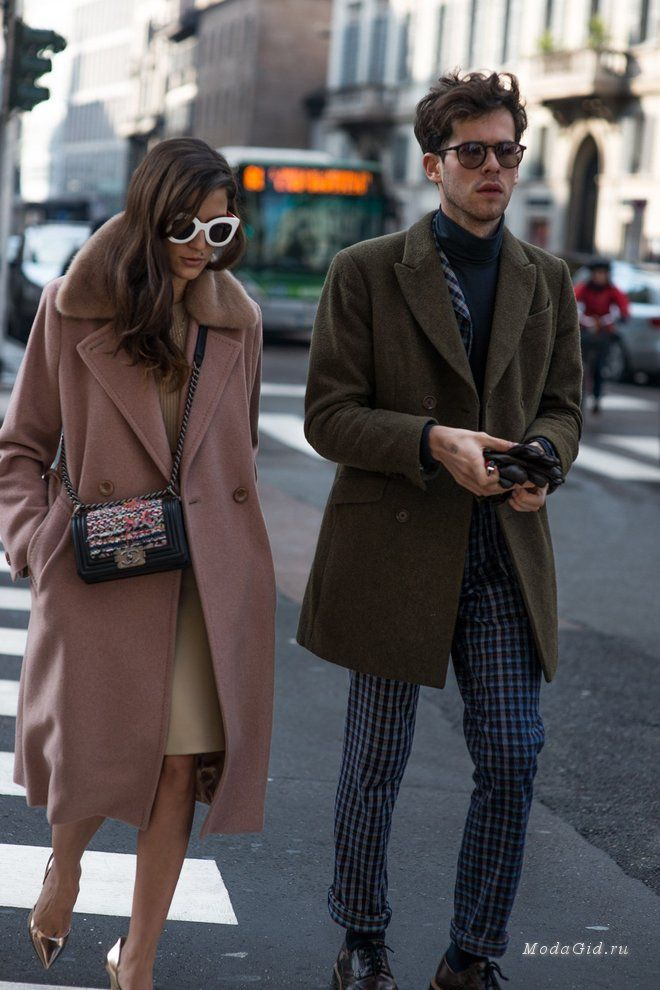 Уличная мода: Уличная мода: стильные пары