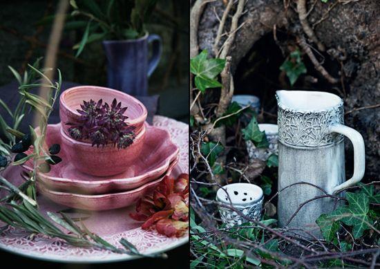 http://inredningsvis.se/porslin-som-huvudratt/  porslin porcelain mateus kopp servis