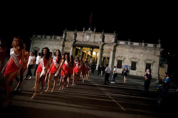 #MissItalia #Montecatini - Parata di Miss