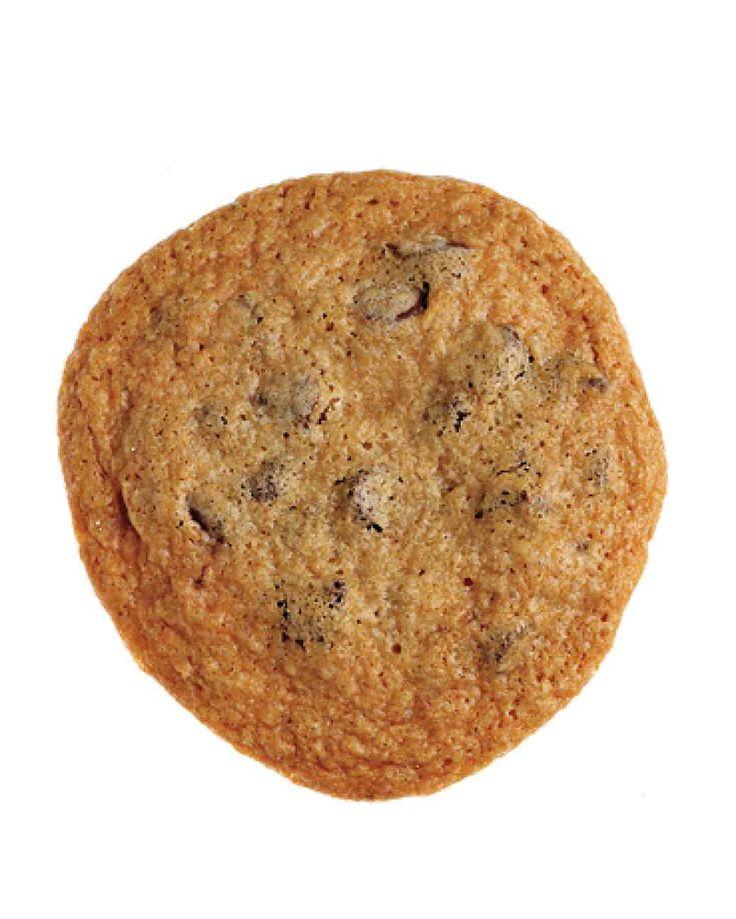 Crisp Chocolate Chip Cookies--from MarthaStewart. **Cookies are crisp ...