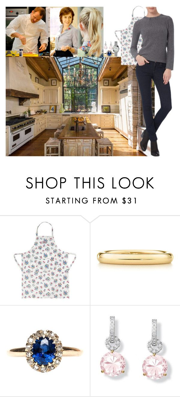 """""""Helping prepare dinner for the Prince's Trust Cymru reception with their personal chef, Julie Davies, and famous Welsh chef, Bryn Williams"""" by lady-maud ❤ liked on Polyvore featuring Elsa Peretti and Links of London"""