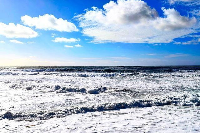 """""""My face above the water, my feet can't touch the ground ... I'm slowly drifting away. Wave after wave ..."""" 🌊 #drifting #waves #wave #ocean #lajolla #california #skies #views @mrprobz #mrprobz #vibes #lajollalocals #sandiegoconnection #sdlocals - posted by Vanessa Martinez  https://www.instagram.com/vanessamtzbrown. See more post on La Jolla at http://LaJollaLocals.com"""
