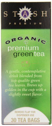 Stash Tea Organic Premium Green Tea 30 Count Tea Bags in Foil Pack of 6 -- To view further for this item, visit the image link.Note:It is affiliate link to Amazon.