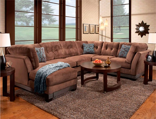 Wrap Around Couch Chaise