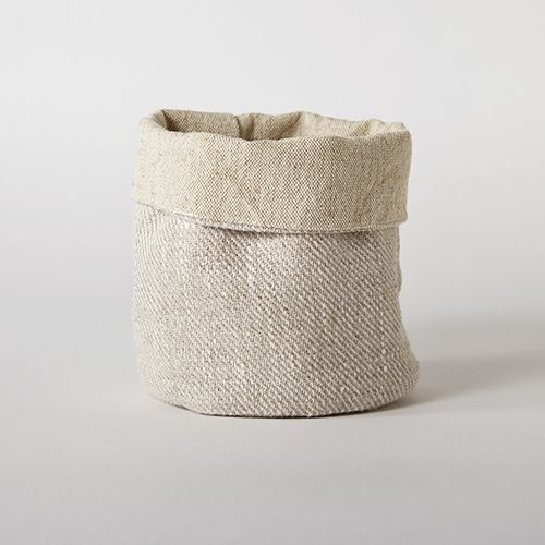 Sturdy yet light and sustainable. These eco friendly linen baskets are perfect for all kinds of organizing around the house! Breathable linen material makes them suitable even for hygienic storage. Us