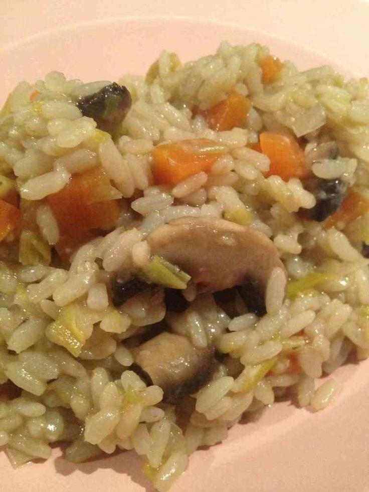 Risotto aux petits légumes - Rachel et sa cuisine gourmande et légère