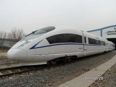 #CNR Tren de alta velocidad para regiones frías CRH380B