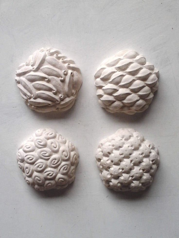 "Wall sculptures white ceramic design, matte white wall decor, modern ceramic beach decor, contemporary minimalist housewarming gift, 6"" each by LouiseFultonStudio on Etsy $320 #white #sculpture #wall #art #texture #pattern"
