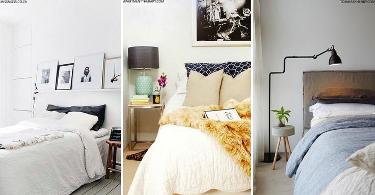 Style Secrets For A Small Bedroom | sheerluxe.com
