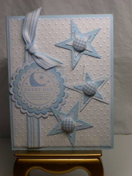So Many Scallops Baby Boy by IdahoLee - Cards and Paper Crafts at Splitcoaststampers