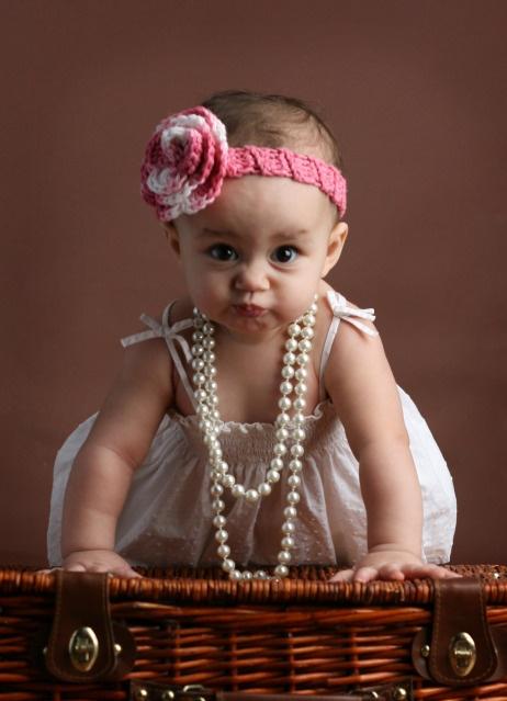 6 Month Photo Idea: 9 Month Photos, 6 Month Baby, 9 Months Photo, 6 Months Photo, My Baby Girl, Baby Girls, Adorable, Photo Ideas I, 6 Month Photos