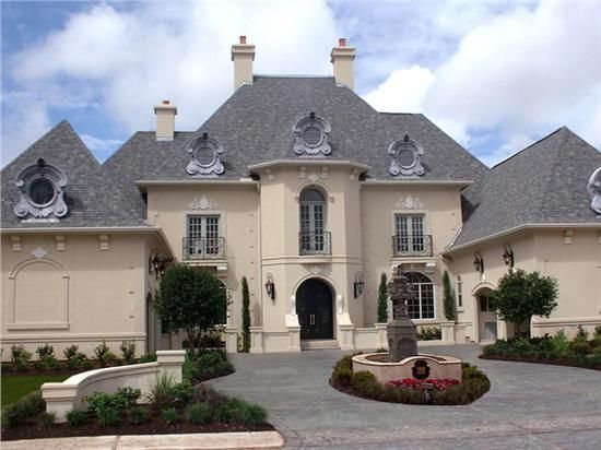 French Country Home Plans Style Designs Chateau Gated