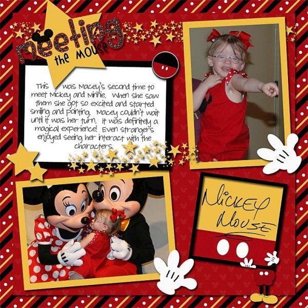 Scrapbook Disney Layouts - Bing Afbeeldingen