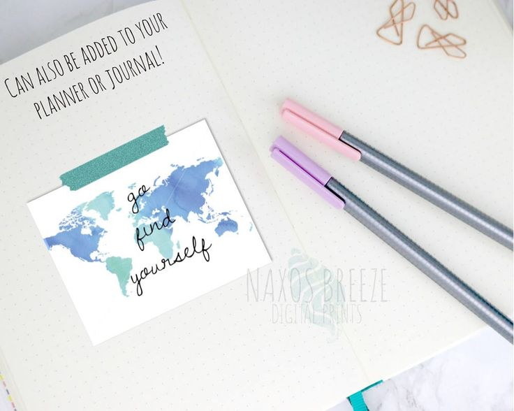 Go find yourself PRINTABLE art,funny,printable gift,inspirational  printable wall art,bedroom wall decor,inspirational, motivational by NaxosBreezePrints on Etsy https://www.etsy.com/listing/518770352/go-find-yourself-printable