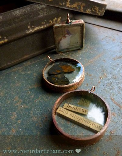 Résine, technique pour réaliser des bijoux tome 2